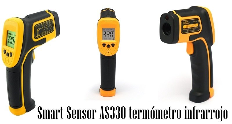 Smart Sensor AS330 termómetro infrarrojo