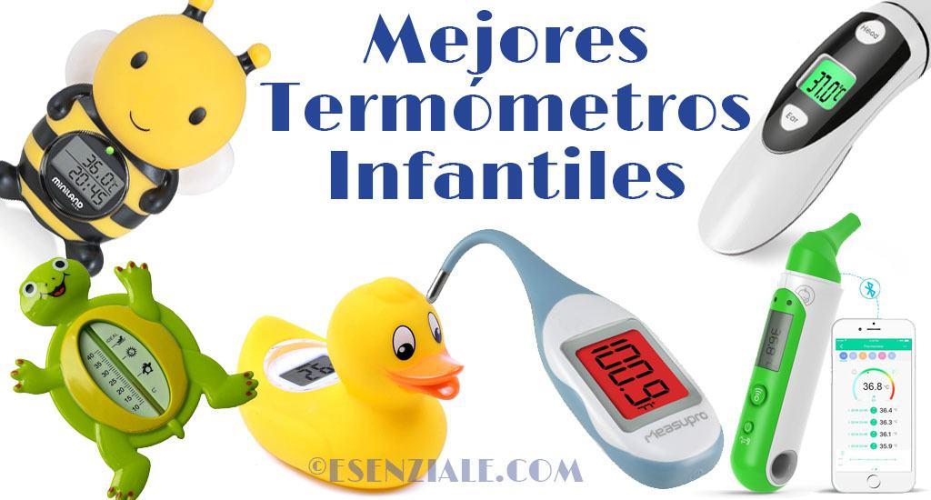 Mejores termómetros infantiles y para bebés