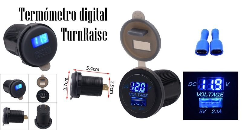 Termómetro digital TurnRaise