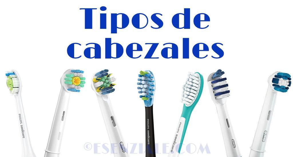 tipos de cabezales de los cepillos eléctricos