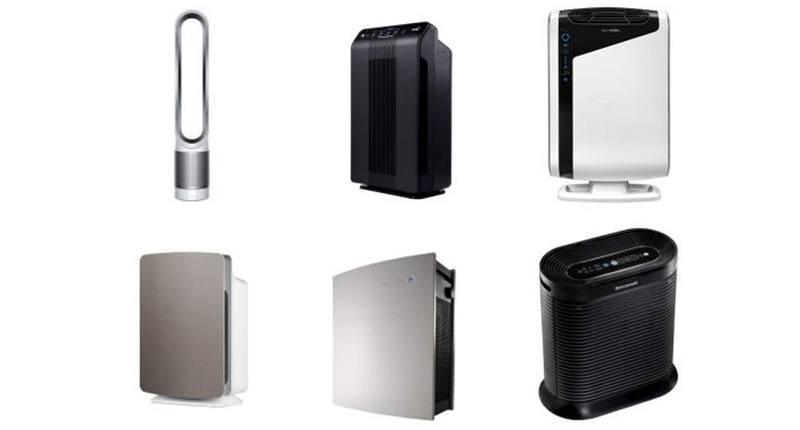 Tipos de purificadores de aire