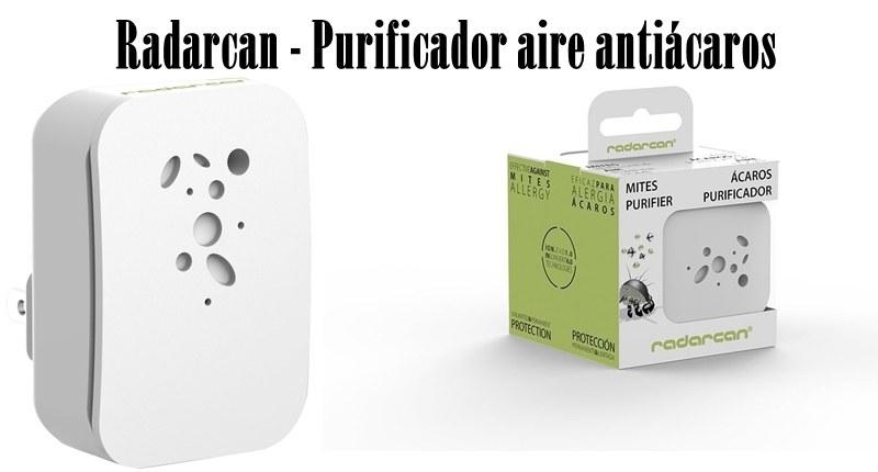 Radarcan - Purificador aire antiácaros