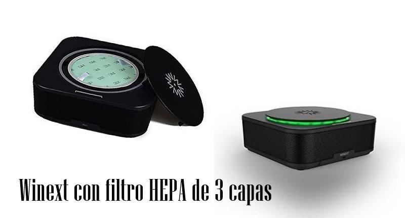 Winext con filtro HEPA de 3 capas