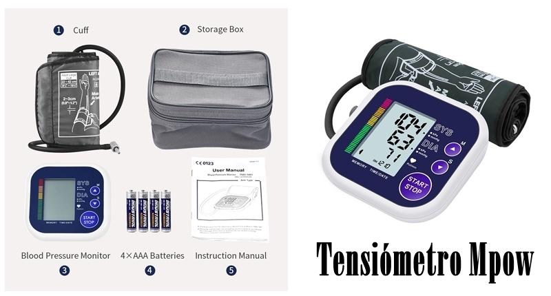 Tensiómetro Mpow