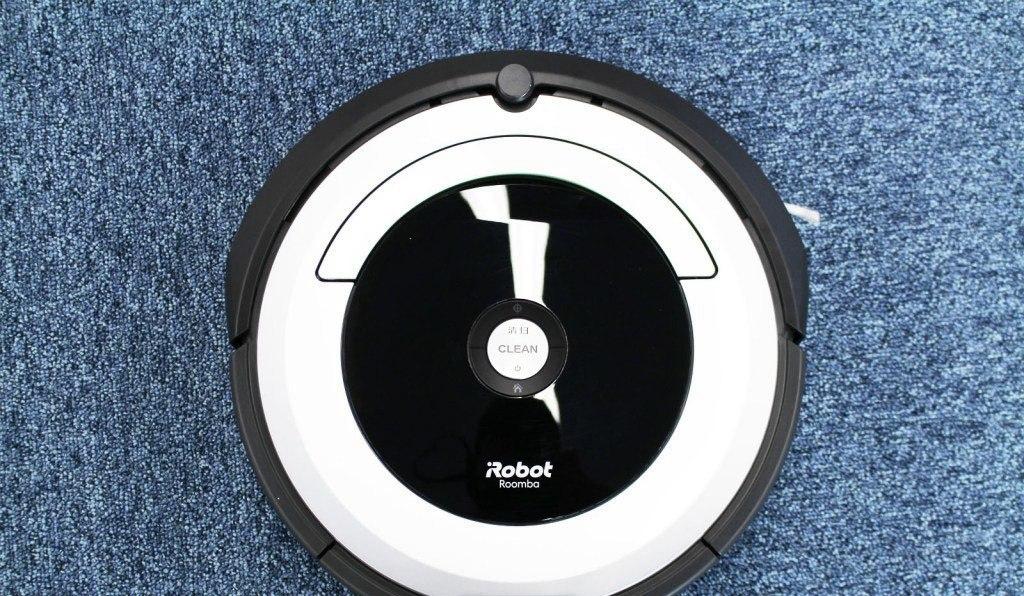 botones superior del roomba 690