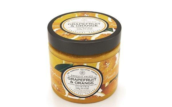 exfoliante tropical fruits