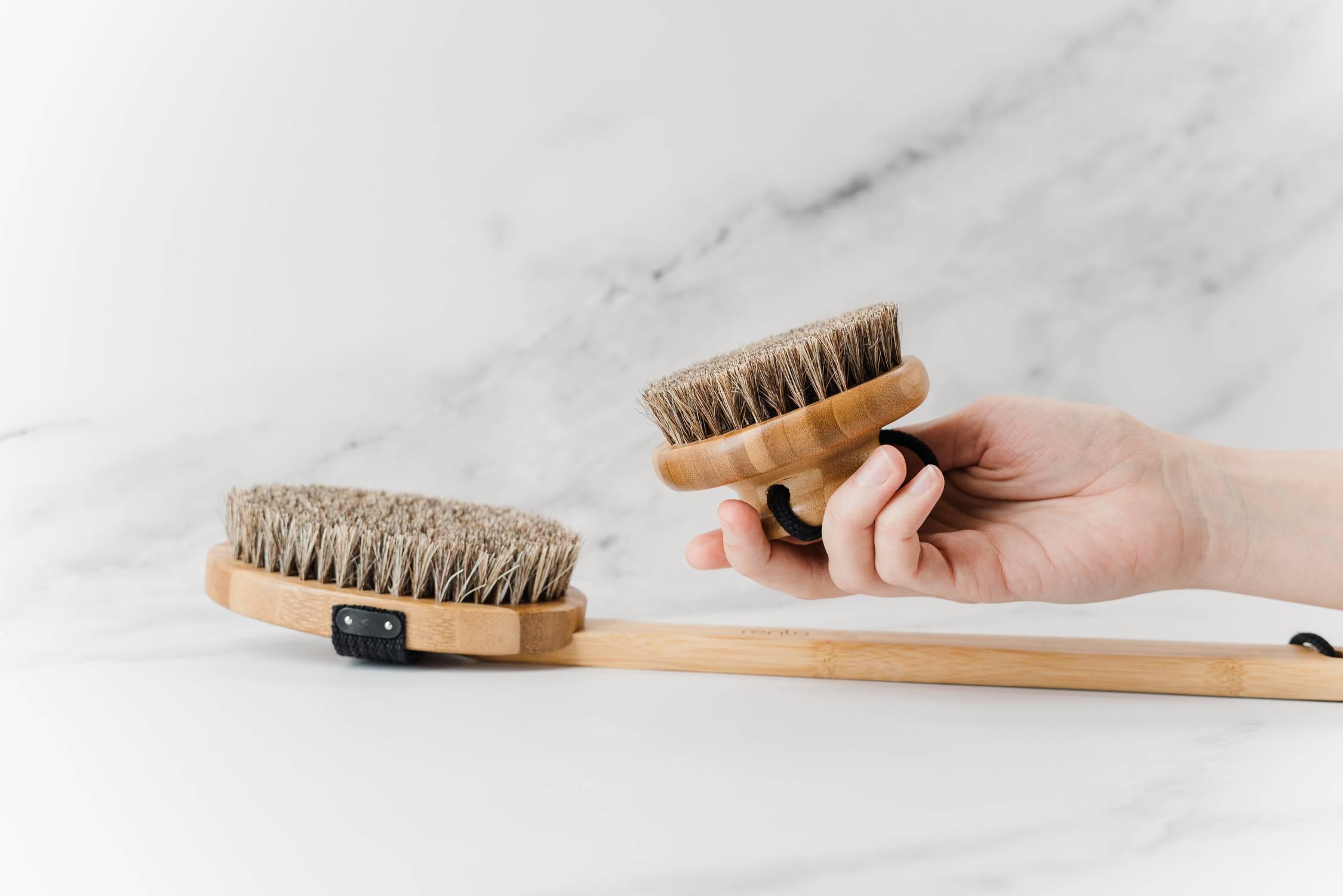 cepillo exfoliante corporal